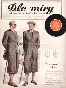 Period clothing, fashions magazine