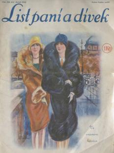 Czechoslovak historical magazines, List pani a divek, Leaf of ladies and girls